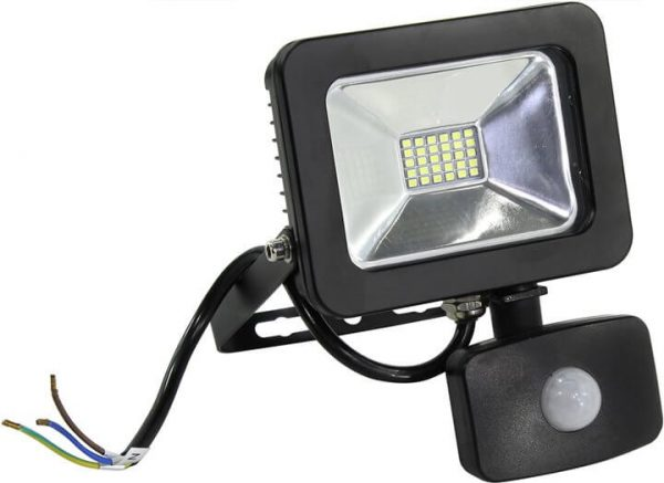 Светодиодный прожектор с датчиком движения Smartbuy SMD FLSen IP65 1
