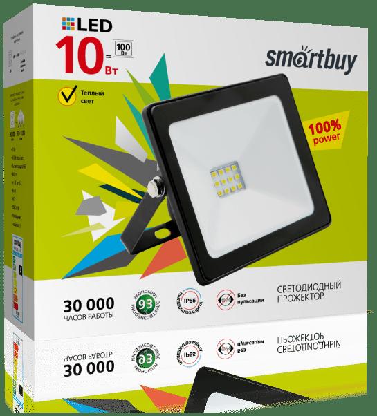 Светодиодный (LED) прожектор FL SMD Smartbuy