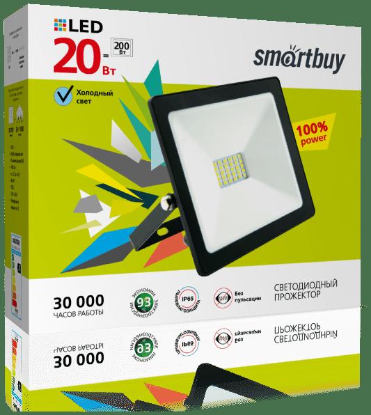 Светодиодный LED прожектор FL SMD Smartbuy IP65 3