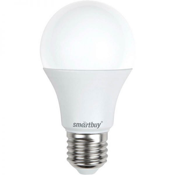 Светодиодная (LED) Лампа Smartbuy A60 E27 1