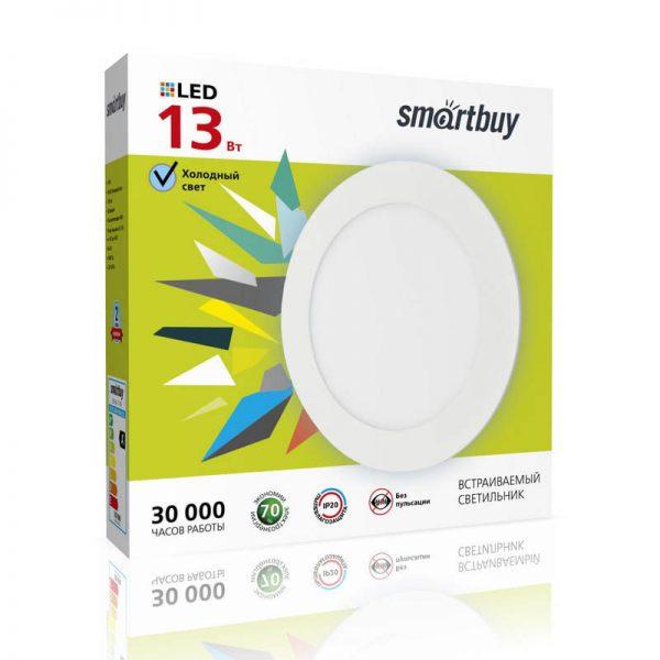 Ультратонкие LED панели круглые DL Smartbuy 1