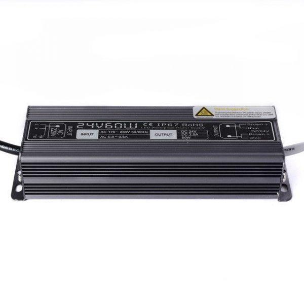 Блок питания 12 вольт для светодиодной LED ленты IP67 1