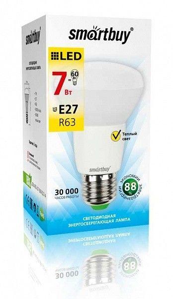 Светодиодная (LED) Лампа Smartbuy-R63-E27 2