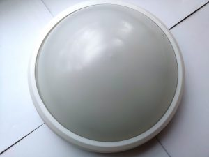 Круглый пылевлагозащищенный светильник smartbuy SBL-HP-12W-4K круг