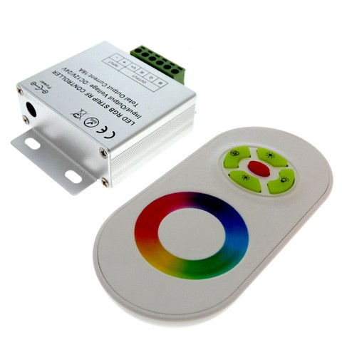 LED RGB controller радио Сенсорный 18А 1