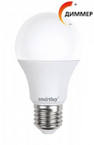Диммируемая LED лампа Smartbuy А60 11Вт E27