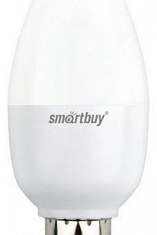 Светодиодная (LED) лампа Smartbuy С37 7W диммируемая E14