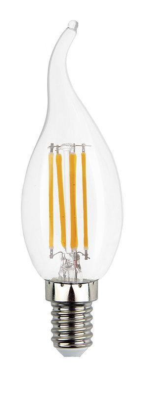 Светодиодная (LED) лампа Smartbuy C37 Filament свеча на ветру E14 1