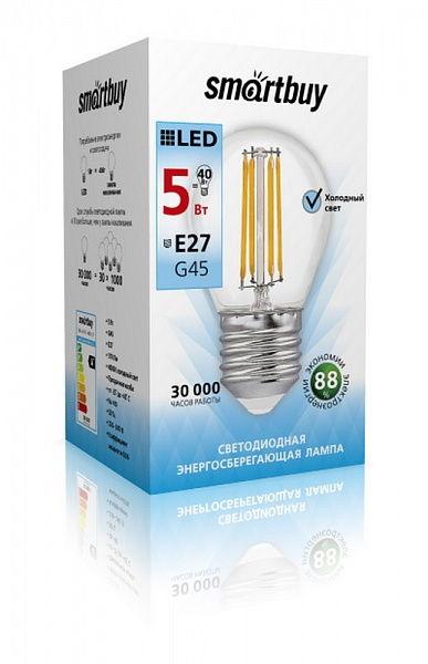 Светодиодная (LED) Филаментная лампа G45 Filament E27 2