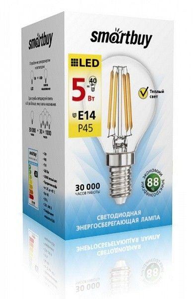 Светодиодная лампа Smartbuy P45 5W Filament 2