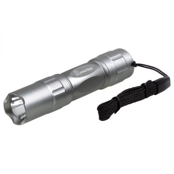 Светодиодный алюминиевый фонарь 0,5W Smartbuy, серебристый 1