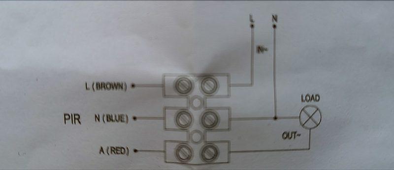 Инфракрасный датчик движения настенный Smatbuy IP44 (до 12 метров) 5
