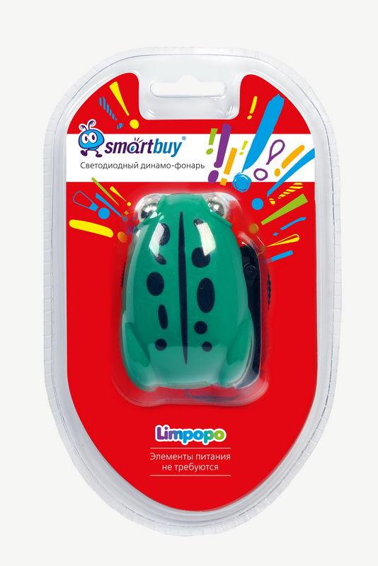 """Светодиодный динамо-фонарь Smartbuy Limpopo 2 LED """"Лягушка"""" 2"""