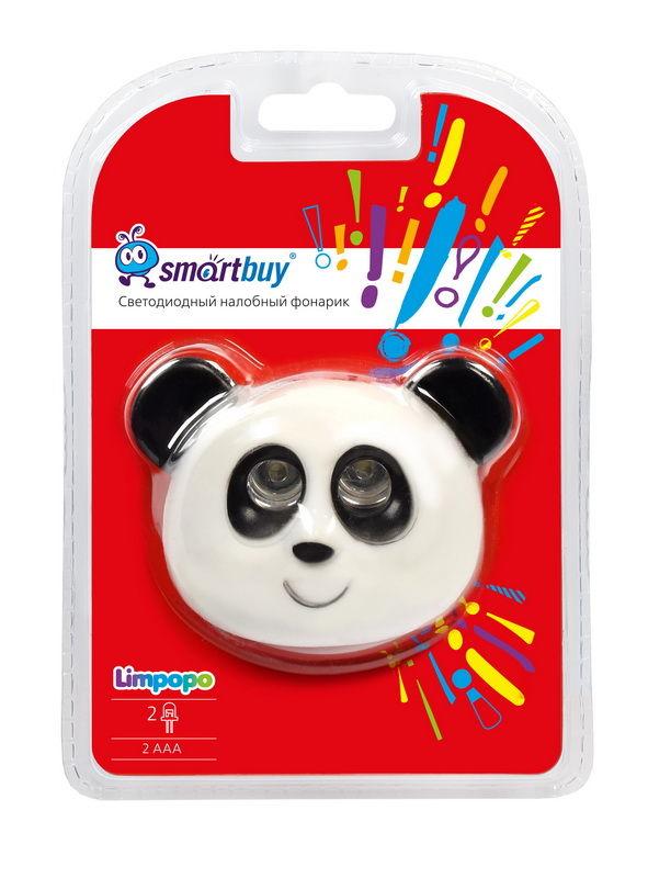 """Светодиодный налобный фонарь Smartbuy Limpopo 2 LED """"Панда"""" 2"""