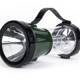 Аккумуляторный кемпинговый фонарь с солнечной батареей Smartbuy 1 Вт+17 LED