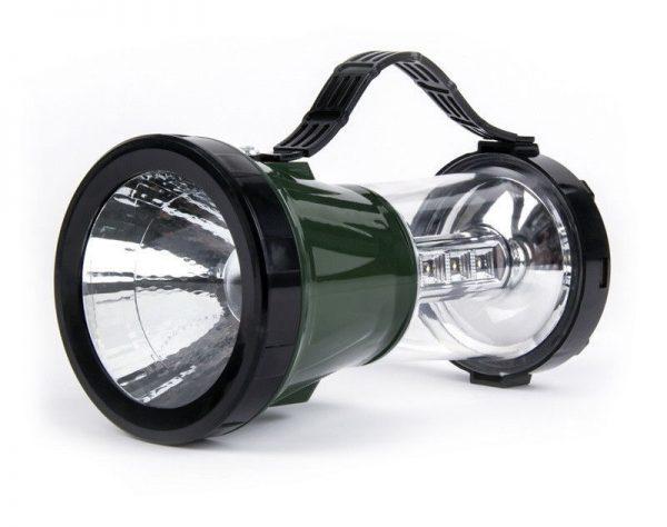 Аккумуляторный кемпинговый фонарь с солнечной батареей Smartbuy 1 Вт+17 LED 1