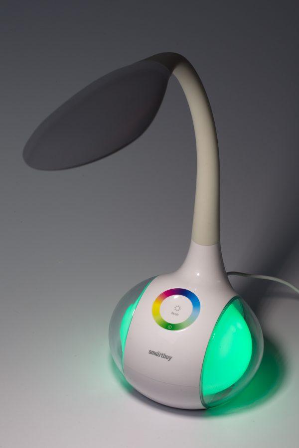 Светодиодный настольный светильник Smartbuy-6W Диммируемый RGB 15