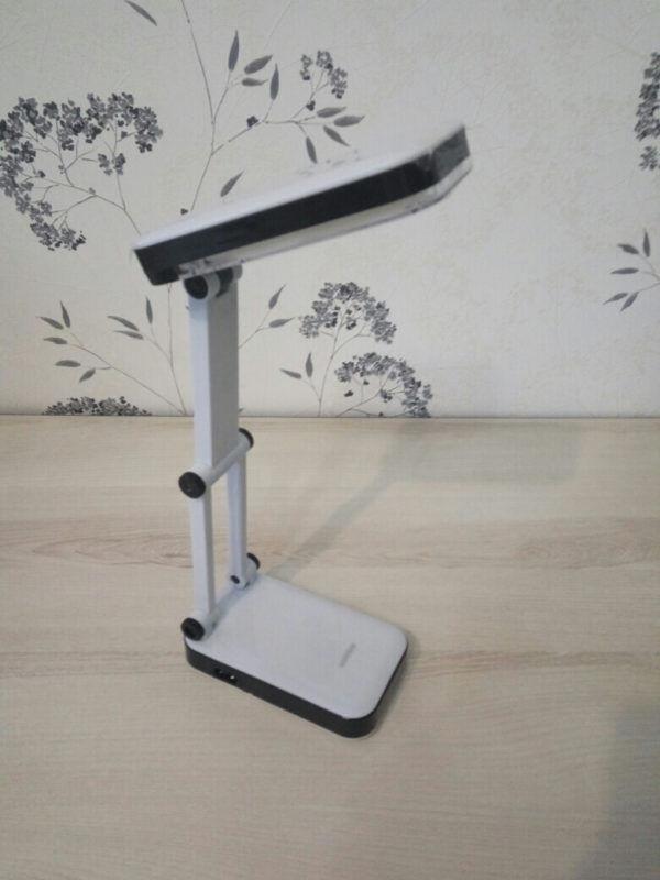 Светодиодный аккумуляторный светильник (LED) Smartbuy-4W /K(SBL-Jump-4-WL-Black) 1