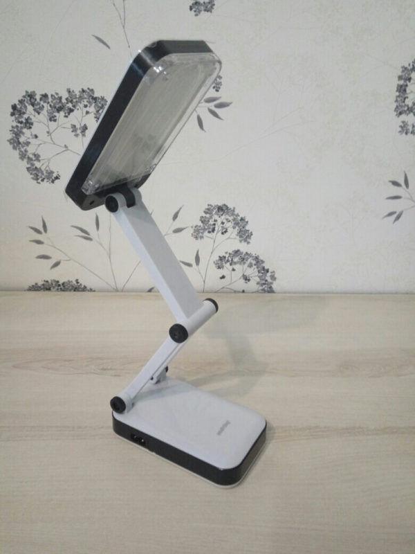 Светодиодный аккумуляторный светильник (LED) Smartbuy-4W /K(SBL-Jump-4-WL-Black) 2