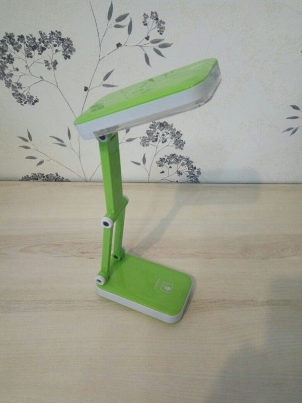 Светодиодный аккумуляторный светильник Smartbuy-4W /K (SBL-Jump-4-GL-Green) 3