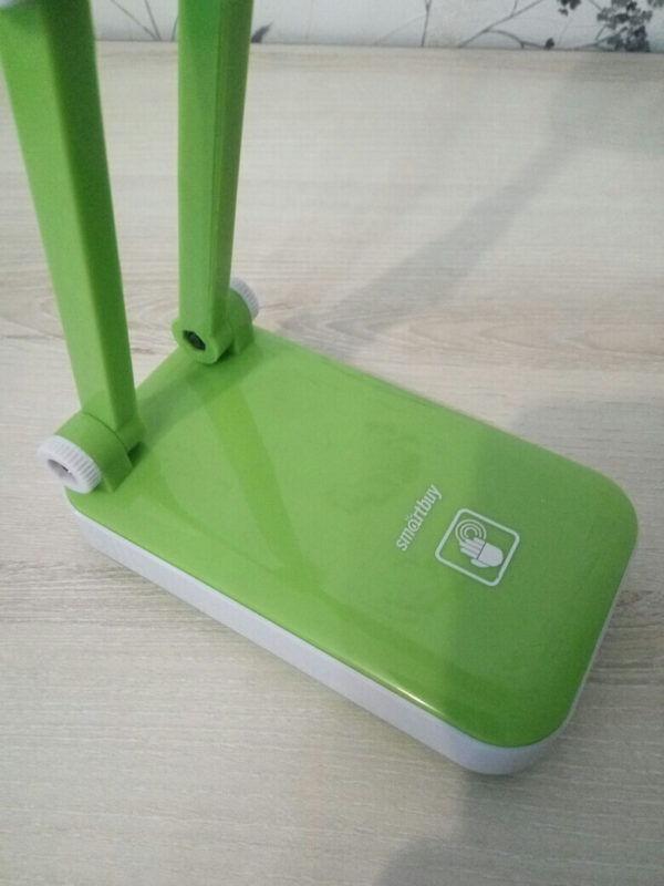 Светодиодный аккумуляторный светильник Smartbuy-4W /K (SBL-Jump-4-GL-Green) 6