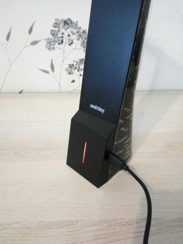 Светодиодный настольный светильник Smartbuy-5W /3step Диммируемый 2