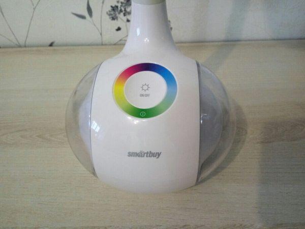 Светодиодный настольный светильник Smartbuy-6W Диммируемый RGB 4
