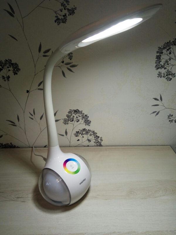 Светодиодный настольный светильник Smartbuy-6W Диммируемый RGB 3