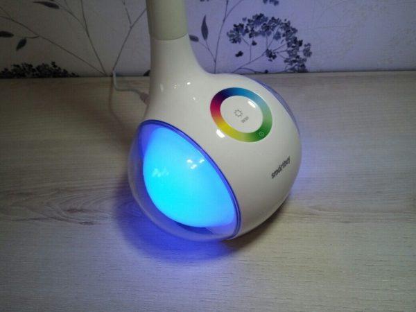 Светодиодный настольный светильник Smartbuy-6W Диммируемый RGB 5