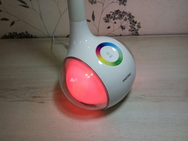 Светодиодный настольный светильник Smartbuy-6W Диммируемый RGB 1