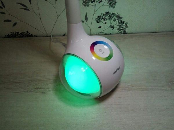 Светодиодный настольный светильник Smartbuy-6W Диммируемый RGB 6