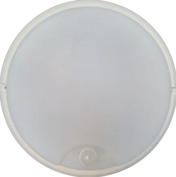 Светодиодный светильник HP 12Вт IP65 Sen Smartbuy с датчиком движения