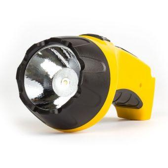 Аккумуляторный светодиодный фонарь 1 LED (3W ) с прямой зарядкой