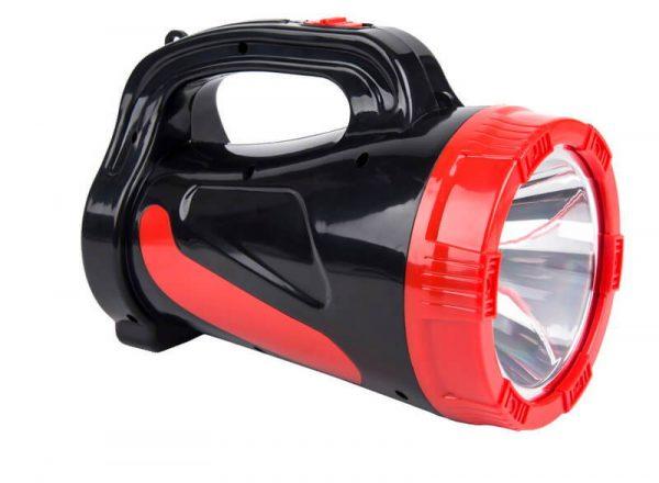 Аккумуляторный фонарь-прожектор 5W, черный 1