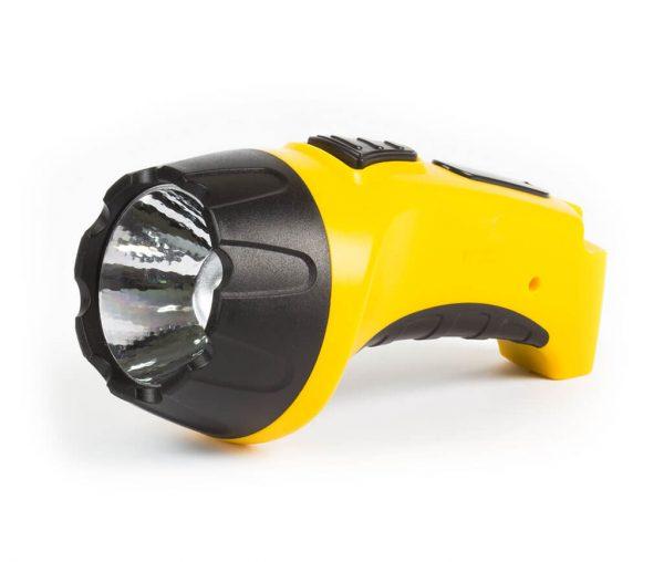 Аккумуляторный светодиодный фонарь 1 LED (3W ) с прямой зарядкой 4