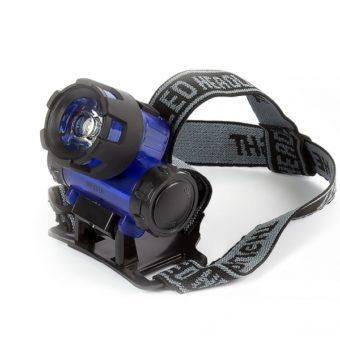 Светодиодный налобный фонарь 1 Вт, 3xAAA