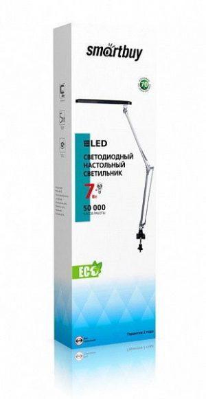 Светодиодный светильник Smartbuy SBL-DL-7-NWFix-Silver на струбцине