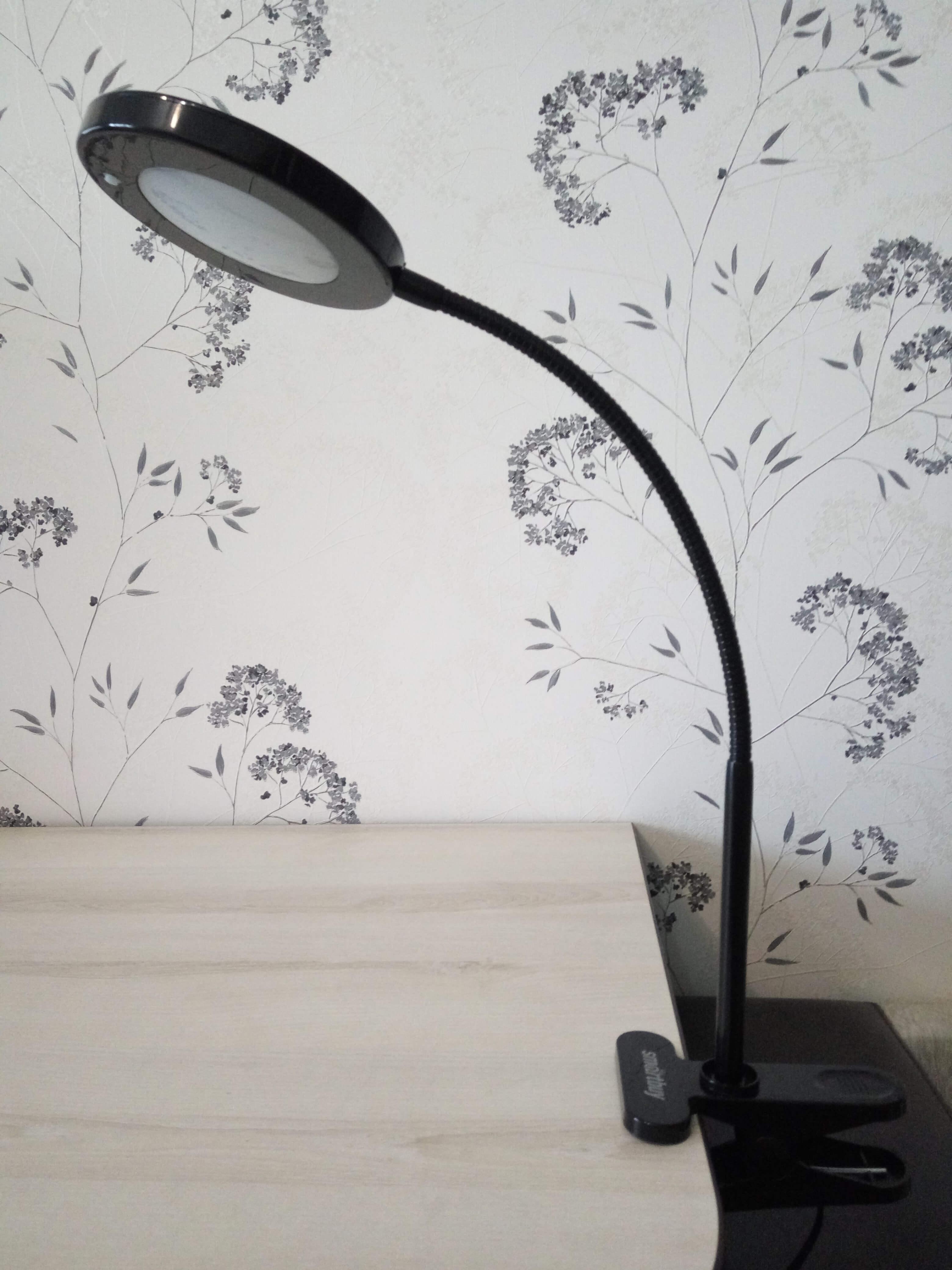 Светодиодный настольный светильник Smartbuy-8W /Clip (на прищепке)