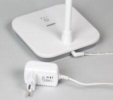 Светодиодный настольный светильник Smartbuy-7W/NW/3-S Диммируемый, Белый 1