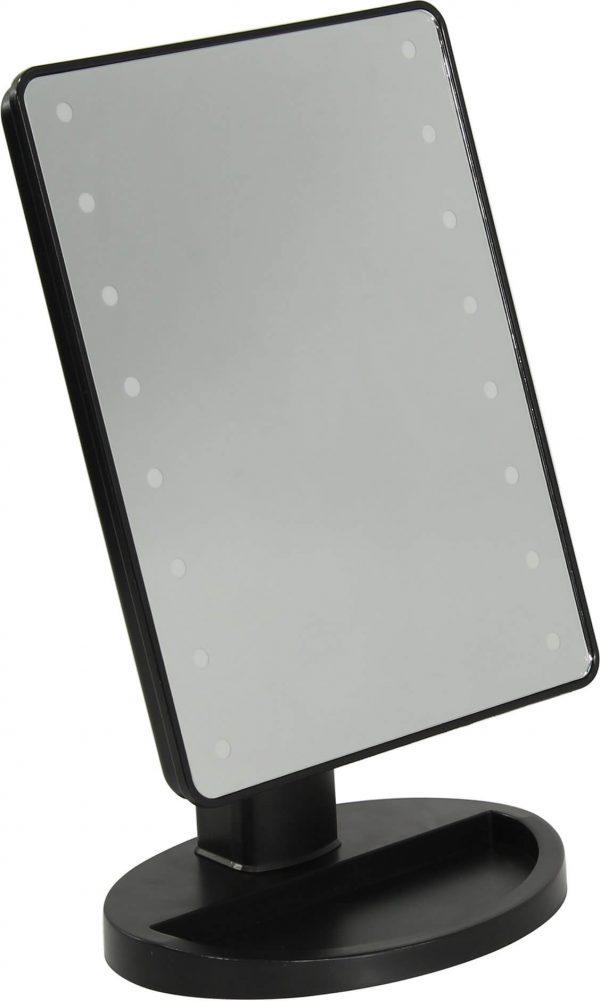 Настольное зеркало Smartbuy с LED подсветкой 001 Black 1
