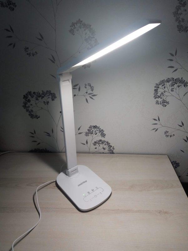 Светодиодный настольный светильник (LED) Smartbuy-9W/111 Диммируемый 2