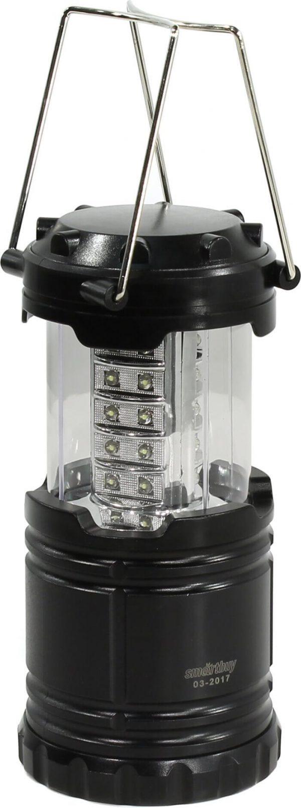 Кемпинговый фонарь складной 30 SMD, черный (SBF-30-F) 1/60