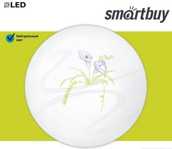 Светодиодный потолочный светильник (LED) Smartbuy Flower