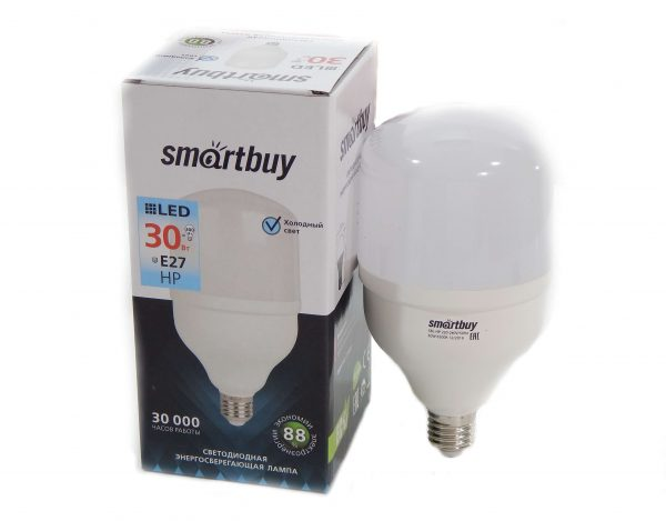 Светодиодная (LED) Лампа Smartbuy HP E27/E40 LED аналог ламп ДНаТ 3