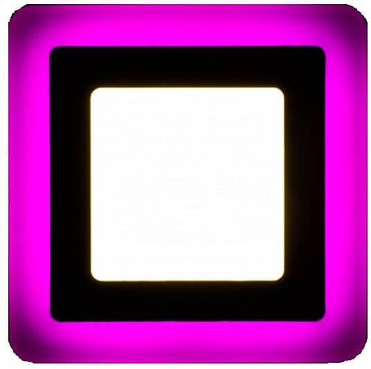 Ультратонкие LED панели квадратные truEnergy с декоративной подсветкой 4