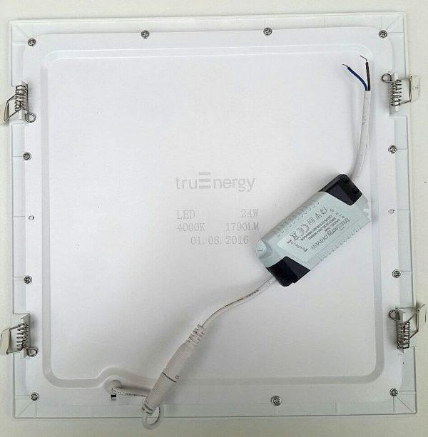 Ультратонкие LED панели квадратные truEnergy Встраиваемые Slim 3