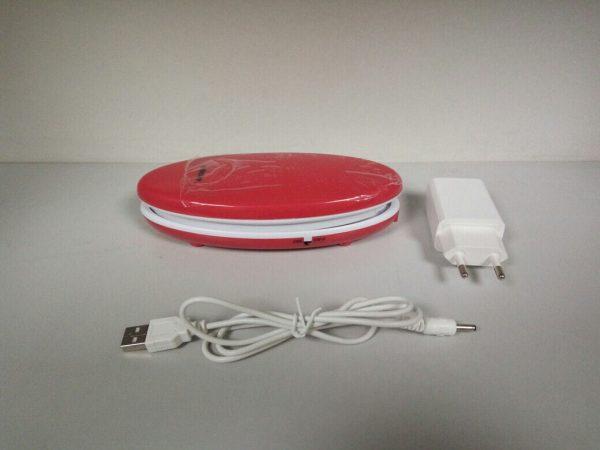 Светодиодный аккумуляторный светильник SB102 3W, красный 2