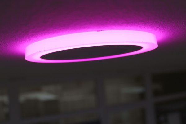 Ультратонкие LED панели круглые truEnergy с декоративной подсветкой 6