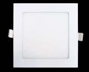Светильник светодиодный ультратонкий квадратный встраиваемый truEnergy