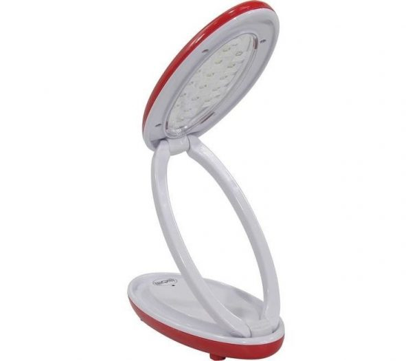 Светодиодный аккумуляторный светильник SB102 3W, красный 5